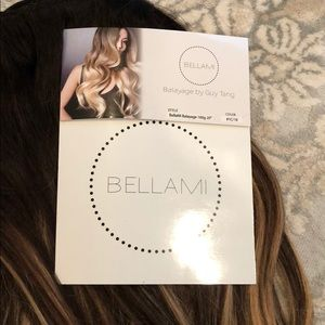 10 piece guy tang bellami clip in hair extensions!